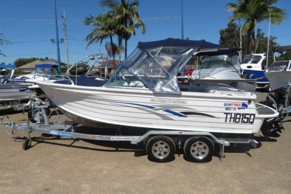 2010 QUINTREX 570 FREEDOM CRUISER for sale in Tingalpa, QLD at $33,500