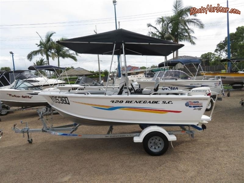 2015 QUINTREX RENEGADE SC 420 for sale in Tingalpa, QLD (ID-129)
