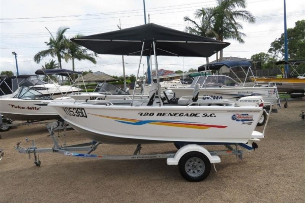 2015 QUINTREX RENEGADE SC 420 for sale in Tingalpa, QLD at $16,995