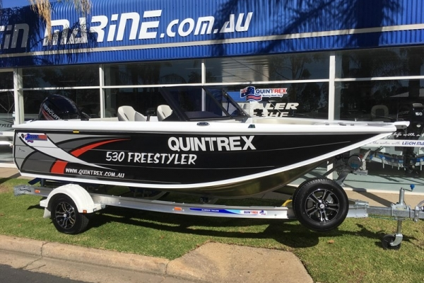 2018 QUINTREX 530 FREESTYLER for sale in Wodonga, Victoria at $55,990
