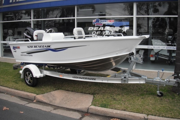 2018 QUINTREX 420 RENEGADE TS for sale in Wodonga, Victoria at $23,950