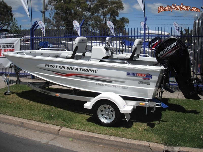 2018 QUINTREX F420 EXPLORER TROPHY SIDE CONSOLE for sale in Wodonga, Victoria (ID-95)