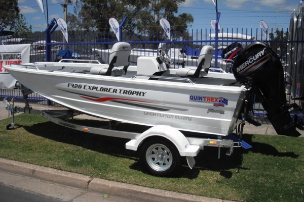 2018 QUINTREX F420 EXPLORER TROPHY SIDE CONSOLE for sale in Wodonga, Victoria at $21,950