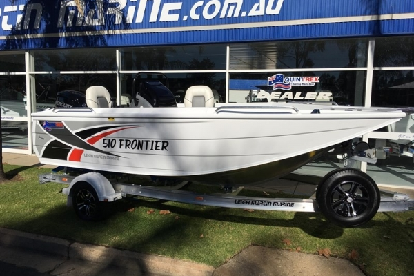 2018 QUINTREX 510 FRONTIER SC for sale in Wodonga, Victoria at $46,390