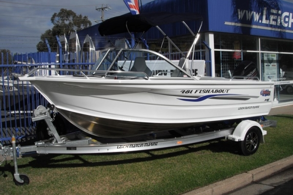 2018 QUINTREX 481 FISHABOUT for sale in Wodonga, Victoria at $31,950