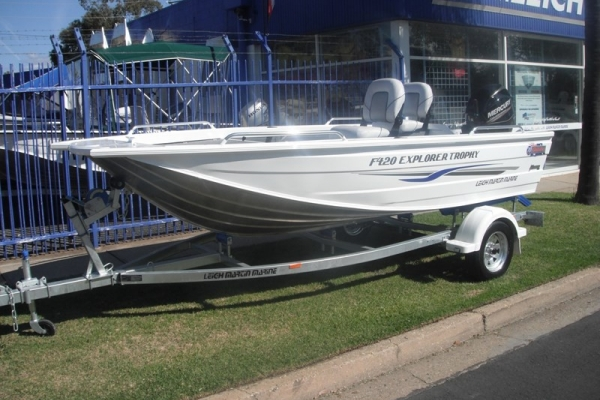 2018 QUINTREX F420 EXPLORER TROPHY for sale in Wodonga, Victoria at $16,850