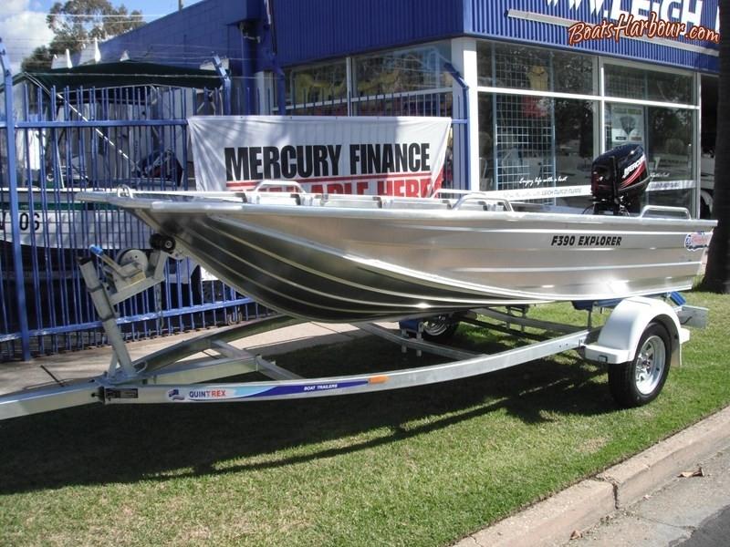 2018 QUINTREX F390 EXPLORER for sale in Wodonga, Victoria (ID-105)