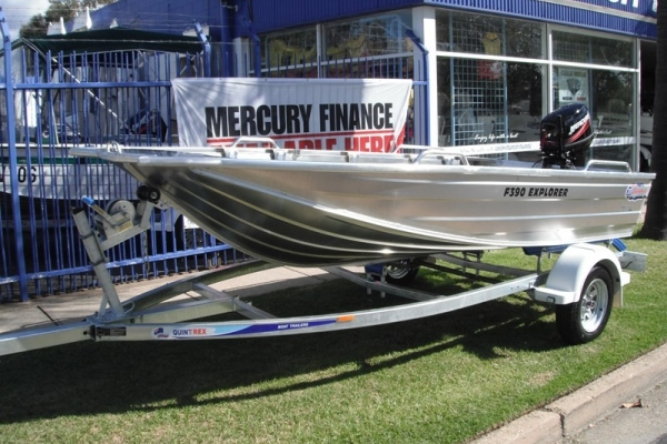 2018 QUINTREX F390 EXPLORER for sale in Wodonga, Victoria at $8,790