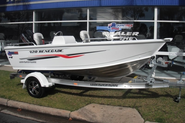 2018 QUINTREX 420 RENEGADE SC for sale in Wodonga, Victoria at $22,950