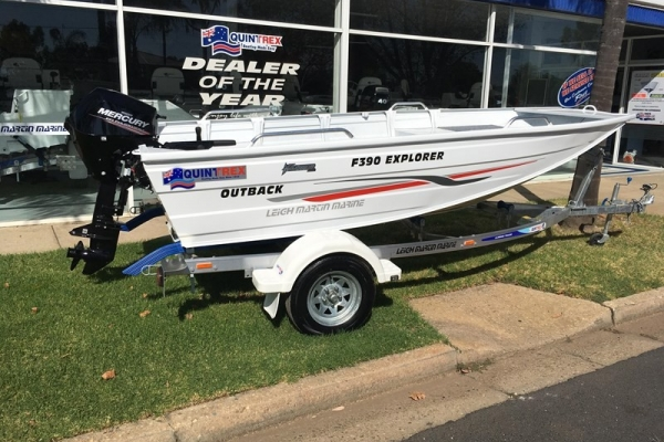 2018 QUINTREX F390 OUTBACK EXPLORER for sale in Wodonga, Victoria at $11,790