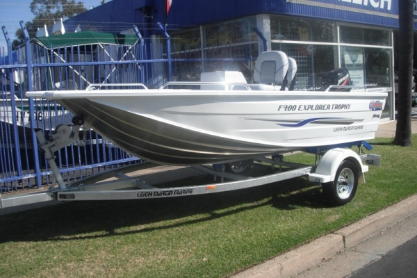 2018 QUINTREX F400 EXPLORER TROPHY for sale in Wodonga, Victoria at $16,690