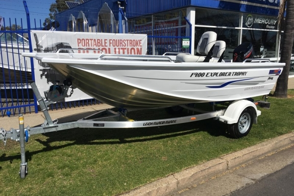 2018 QUINTREX F400 EXPLORER TROPHY for sale in Wodonga, Victoria at $13,990
