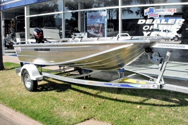 2018 QUINTREX F390 EXPLORER  for sale in Wodonga, Victoria at $7,690