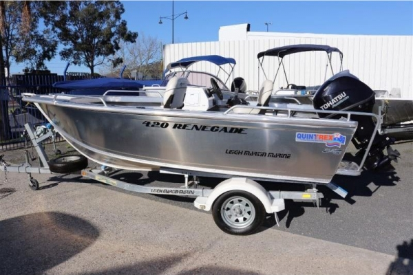 2018 QUINTREX RENEGADE SC 420 for sale in Wodonga, Victoria at $18,990