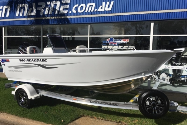 2019 QUINTREX 460 RENEGADE SC for sale in Wodonga, Victoria at $28,880
