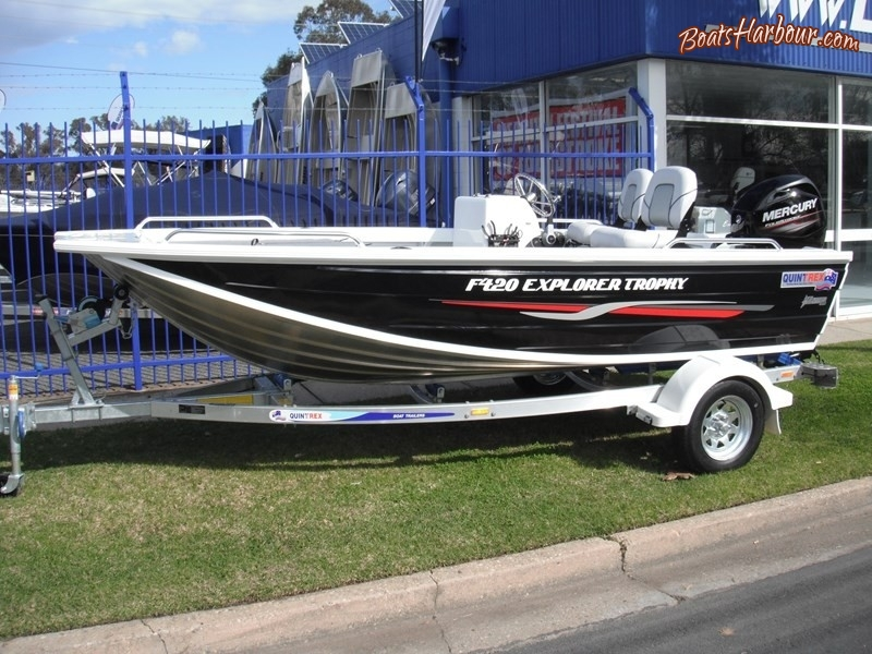 2019 QUINTREX F420 EXPLORER TROPHY for sale in Wodonga, Victoria (ID-106)