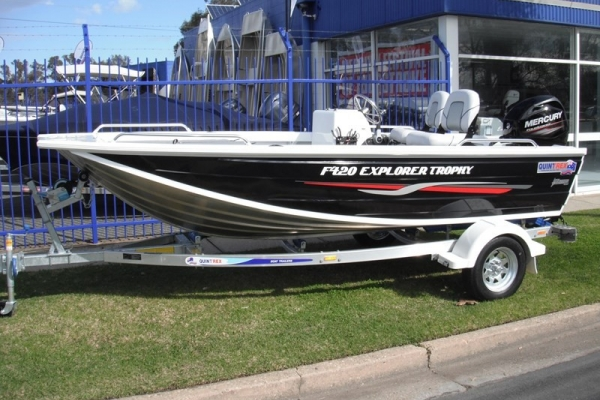 2019 QUINTREX F420 EXPLORER TROPHY for sale in Wodonga, Victoria at $22,350