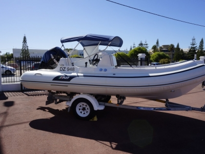 2012 Ab Inflatables Nautilus 17 for sale in Fremantle, WA at $42,000