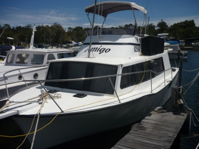 Power Boats - 1970 Back And Mather 36 for sale in Perth, WA at $20,000