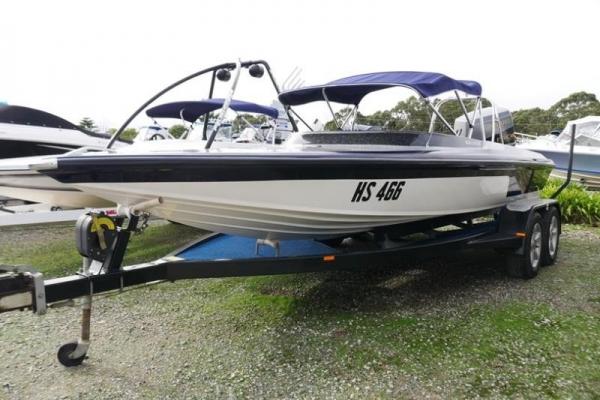 Invader Craft Ski Boat for sale in Braeside, Victoria at $17,499