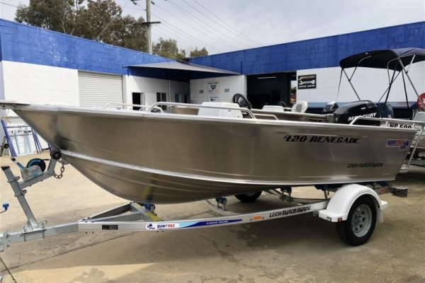 QUINTREX 420 RENEGADE SC for sale in Wodonga, Victoria at $16,950