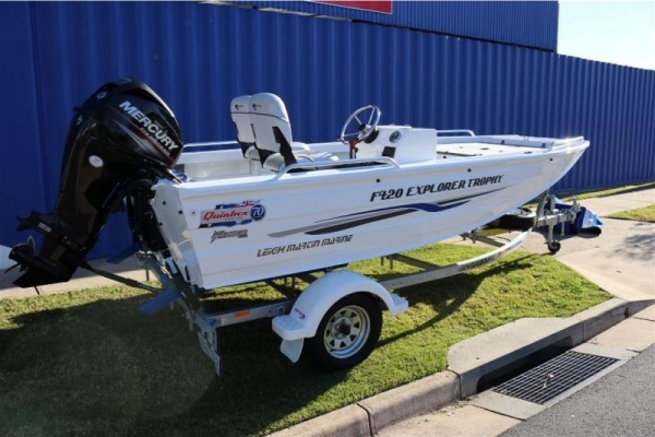Small Boats - QUINTREX EXPLORER 420 for sale in Wodonga, Victoria at $18,950