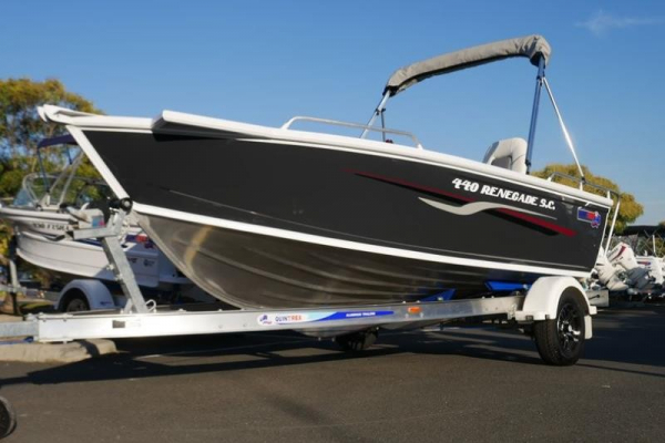 Quintrex 440 Renegade Side Console for sale in Braeside, Victoria at $31,999