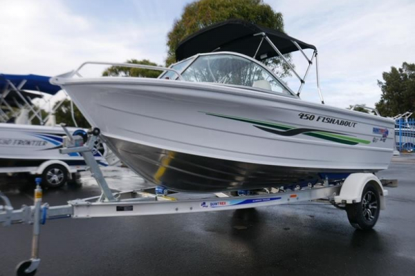 Quintrex 450 Fishabout - Runabout for sale in Braeside, Victoria at $30,499