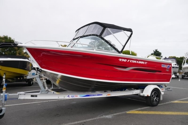 Quintrex 490 Fishabout DLX Runabout for sale in Braeside, Victoria at $39,999