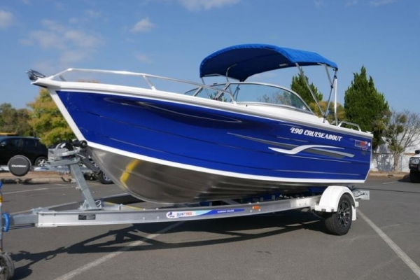 Quintrex 490 Cruiseabout Bow Rider for sale in Braeside, Victoria at $46,295