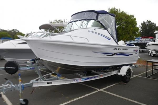 Quintrex 510 Sea Spirit Cabin Boat for sale in Braeside, Victoria at $43,870