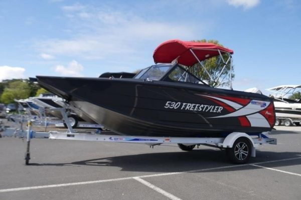 Quintrex 530 Freestyler Bow Rider for sale in Braeside, Victoria at $59,990