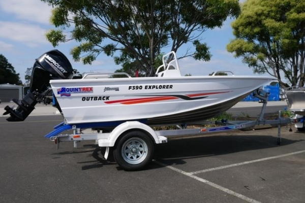 Quintrex F390 Explorer Side Console for sale in Braeside, Victoria at $19,990