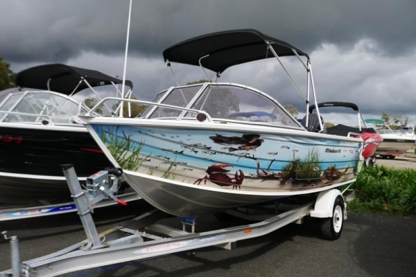 Stacer 479 Sunmaster Runabout for sale in Braeside, Victoria at $24,999