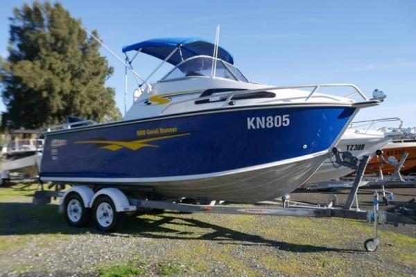 Stacer 600 Coral Runner Cabin Boat for sale in Braeside, Victoria at $39,999