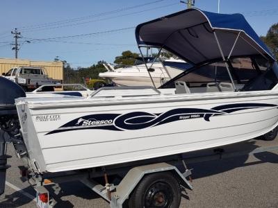Power Boats - 2010 Stessco Skipper 445 DLX for sale in Perth, WA at $18,990
