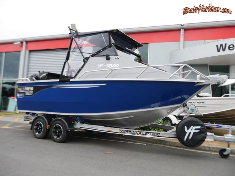 YELLOWFIN 5800 FOLDING HARD TOP NEW 2019 RELEASE for sale in Braeside, Victoria (ID-58)