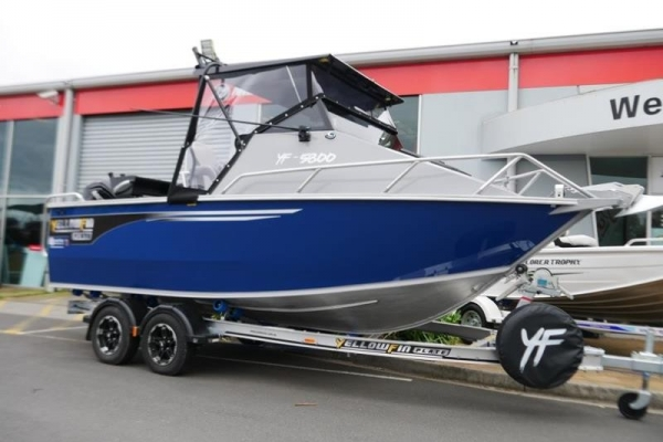 YELLOWFIN 5800 FOLDING HARD TOP NEW 2019 RELEASE for sale in Braeside, Victoria at $71,990