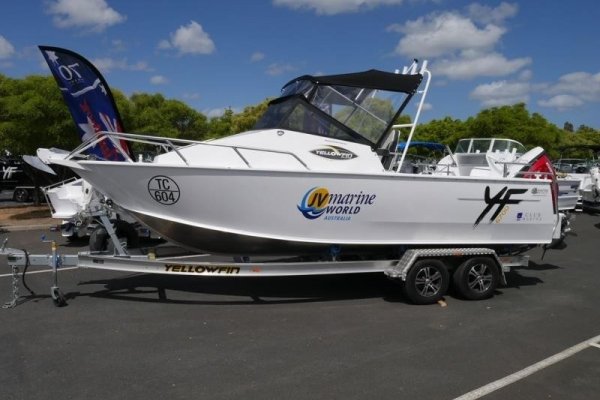 Yellowfin 6700 Cabin Plate Offshore for sale in Braeside, Victoria at $79,990